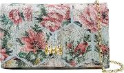 Almere Patchwork Jacquard Clutch Bag