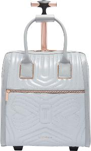 Clariaa Quilted Bow Travel Bag