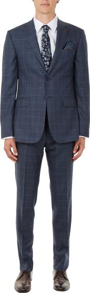 Comforj Check Tailored Suit Jacket