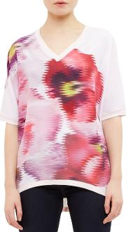 Expressive Pansy Samsie Woven Jumper, Baby Pink