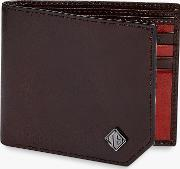 Farmed High Shine Leather Bifold Wallet