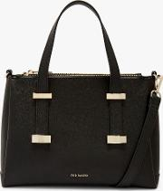 Julieet Small Leather Tote Bag