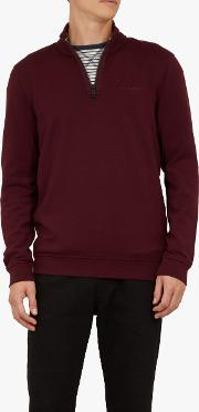Jundo Half Zip Branded Jumper
