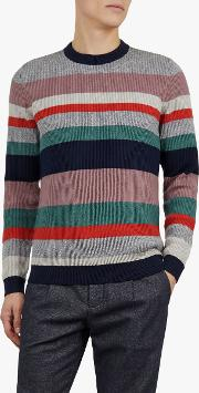 Krena Stripe Ribbed Jumper