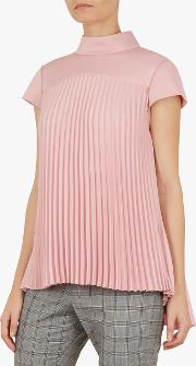 Laurra Pleated Top