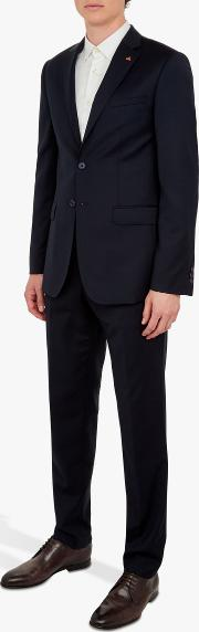 Performance Wool Tailored Suit Jacket