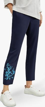 Quavey Embroidered Trousers