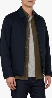 Samba Bonded Cotton Harrington Jacket
