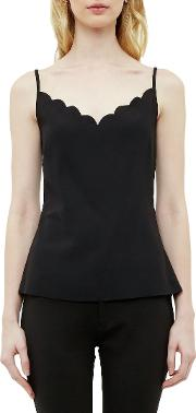 Siina Scallop Detail Camisole