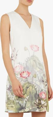 Staycy Waterfall Floral Dress