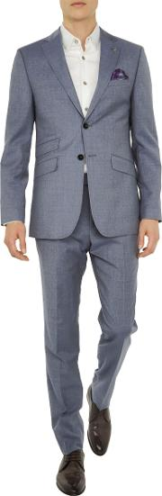 Tenetoj Sterling Plain Wool Tailored Suit Jacket
