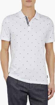 Tuka Printed Polo Shirt