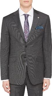 Ursusj Micro Weave Tailored Suit Jacket