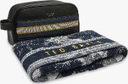 Wash Bag And Towel Set