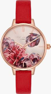 Women's Kate Leather Strap Watch