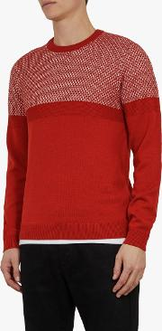 Yeting Interest Stitch Crew Neck Jumper