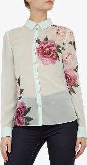 Zaylaa Floral Blouse