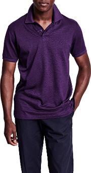 Lyell Texture Classic Fit Polo Shirt