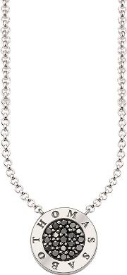 Glam & Soul Signature Zirconia Pave Necklace