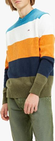 Tommy Jeans Colour Blocking Sweater