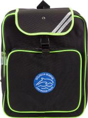 Dolphin School Unisex High Visibility Backpack