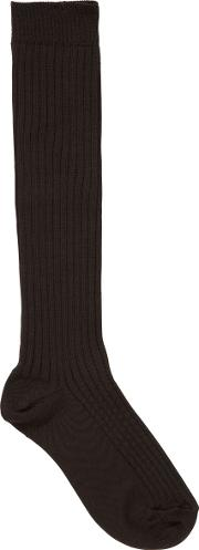 Girls' School Knee High Socks, Pack Of 2