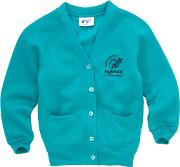 Highfield Ce Primary School Girls' Cardigan, Jade