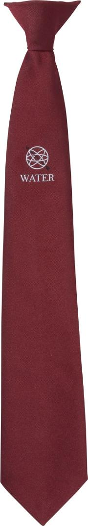 The Westgate School Water House Clip On Tie