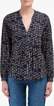 Vivian Quilted Blouse