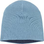 Double Face Wool Blend Beanie Hat