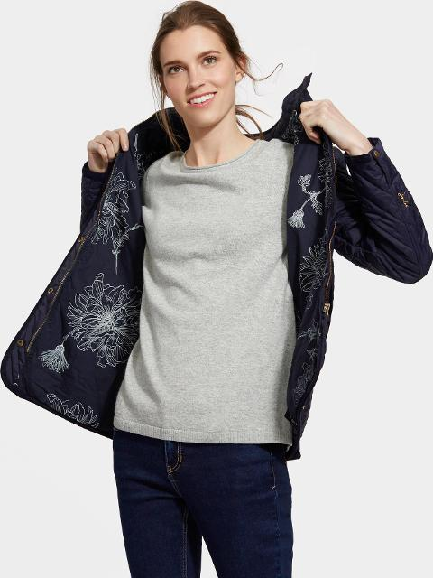 Joules Clothing Marine Navy Newdale Quilted Jacket Size 6 Joules Uk