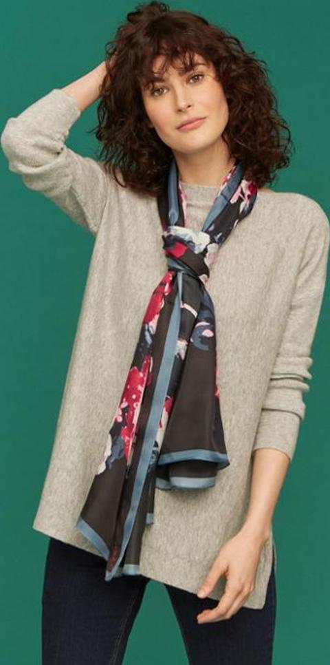 727403df951d68 Shop Joules Clothing Scarves for Women - Obsessory