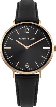 Contemporary Leather Watch