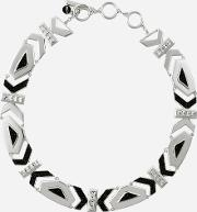 Art Deco K Collar Necklace