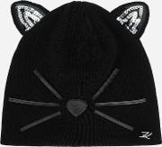 Choupette Sequined Beanie