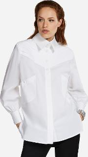 Karl Fitted Pleated Shirt