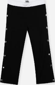 Karl Press Stud Trousers
