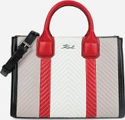Kklassik Quilted Colourblocked Tote