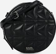 Kkuilted Round Crossbody Bag