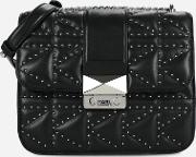 Kkuilted Studs Crossbody Bag