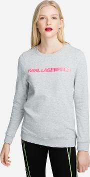 Neon Lights Logo Sweatshirt