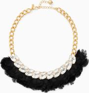 In Full Feather Necklace
