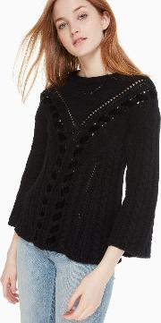 Velvet Ribbon Sweater