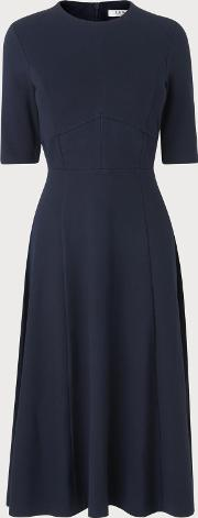 Bethan Navy Jersey Dress