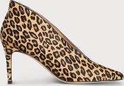Corrina Leopard Print Closed Courts