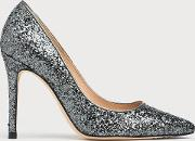 Fern Grey Glitter Closed Courts