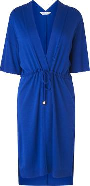Orban Blue Cotton Cover Up