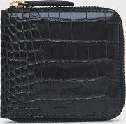 Penelope Grey Croc Effect Purse