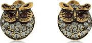 Glenda & Gilda Owl Stud Earrings