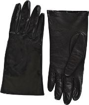 Matte & Patent Leather Gloves